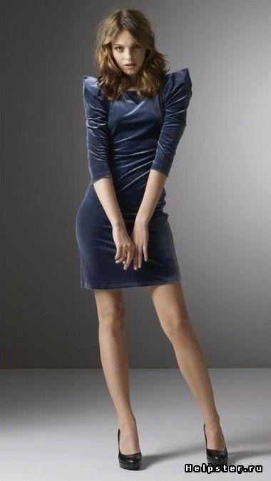 Хочу бархатное платье. Нужны модели актуальны этому сезону / красное бархатное платье