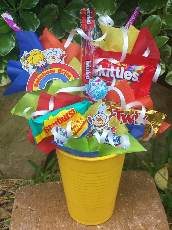 Throwback Rainbow Brite Kids Candy Party by LynnsCandyCreations, $4.99
