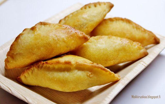 Huvilaelämää ja mökkiruokaa: Empanadat rusina-jauhelihatäytteellä perulaiseen tapaan
