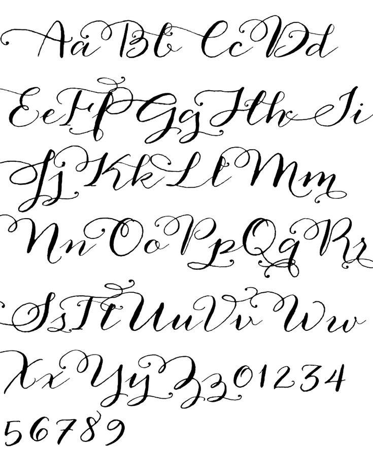 As melhores imagens em caligraphy no pinterest cool