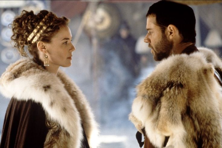 Hair inspiration (Gladiator - Russell Crowe - Connie Nielsen)