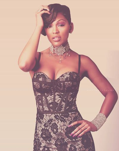 Ms. Megan Good ... This will be my hair very soon.