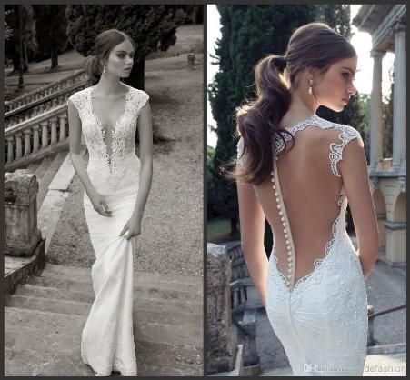 46 best Sexy Wedding Dresses images on Pinterest Brides