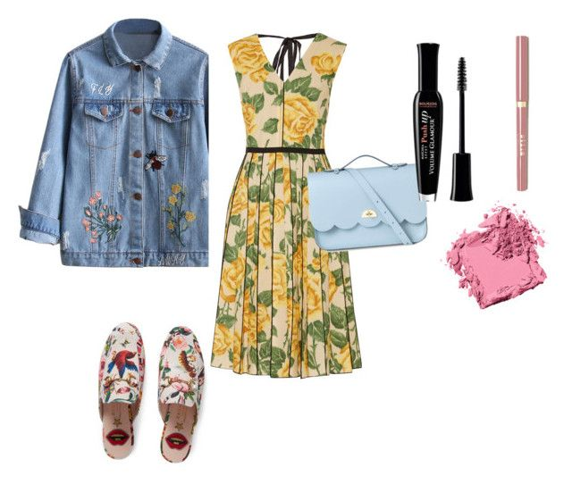 """""""h.k"""" by hanika15 on Polyvore featuring мода, Marc Jacobs, Gucci, The Cambridge Satchel Company, Bourjois и Bobbi Brown Cosmetics"""