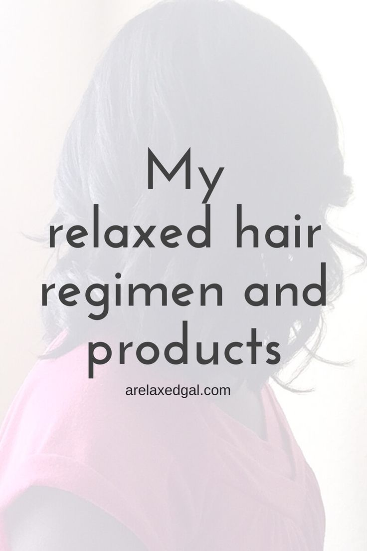 I'm sharing the details of my healthy relaxed hair regimen and products I'm using and used to use on my relaxed hair. | arelaxedgal.com