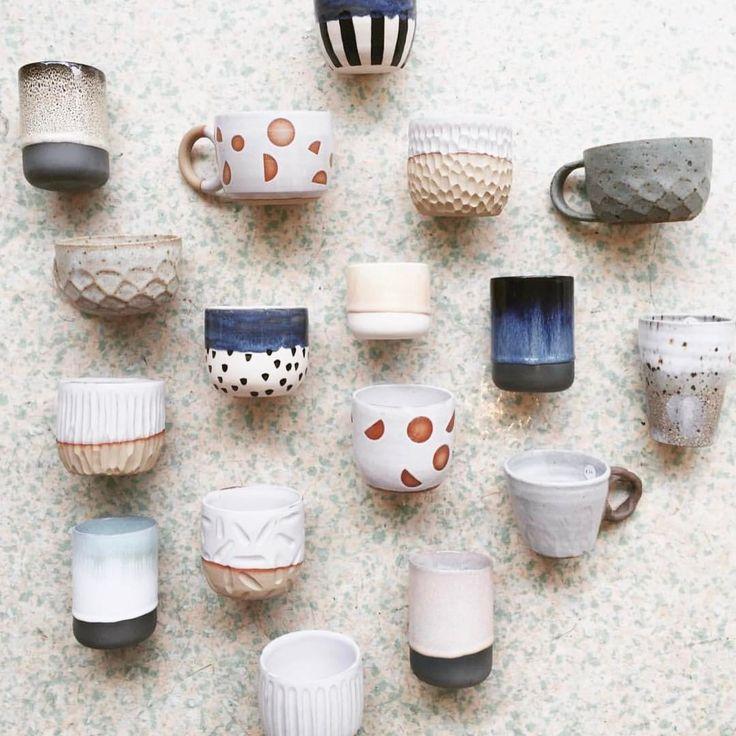 "P U B L I C H O L I D A Y (@itsapublicholiday) on Instagram: ""In good company at @lunarstore ☕️✨ ~ #ceramics #pottery #handmade #lunarstore #prahran #stoneware…"""