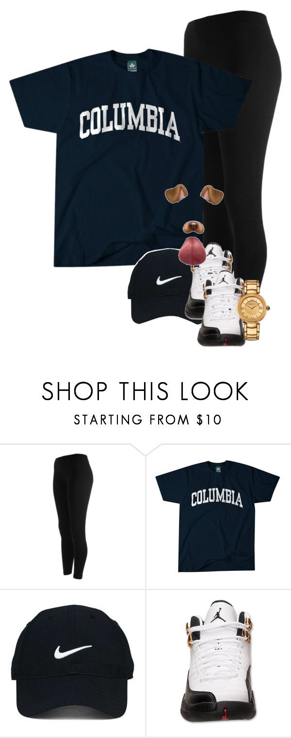 """Untitled #353"" by muvaaliyah ❤ liked on Polyvore featuring Columbia, Nike Golf, Retrò and Versace"