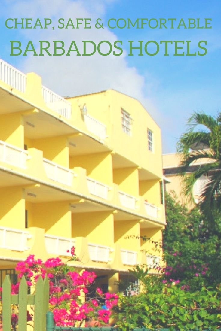 Looking for cheap hotels in Barbados but don't want to sacrifice comfort and safety? Intimate Hotels of Barbados has got just the place for you, with rates as low as US$55 per night