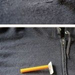 Shave the pills off your winter clothes with a razor