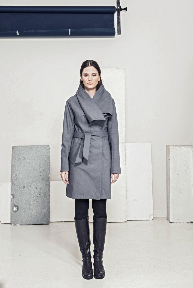 Kabátek s přepínacím límcem