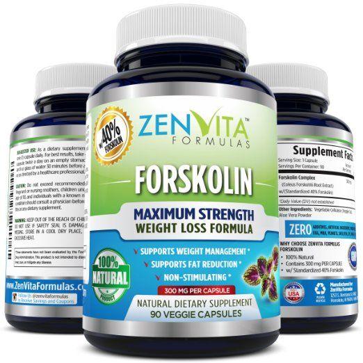 ZenVita Formulas Forskolin- The Ultimate Fat Burner