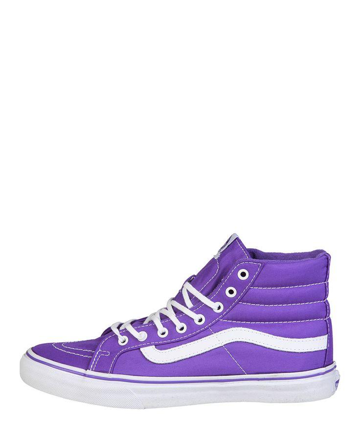 Sneaker unisex  VANS SK8-HI Viola - Primavera Estate - titalola.com