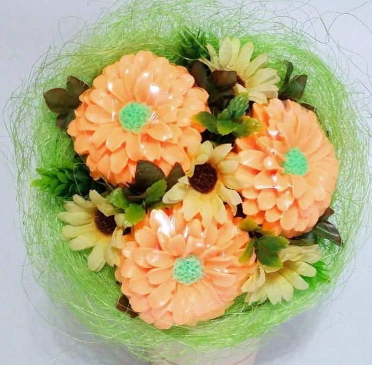 Цветов, букеты из мыла своими руками