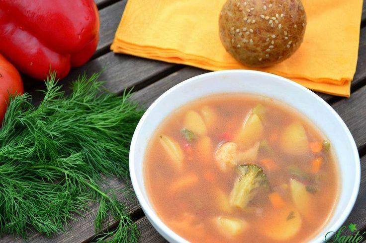 Supa gustoasa si sanatoasa doar la Sante Food gasesti!