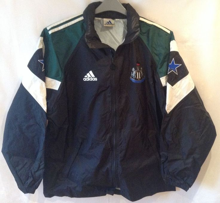 Newcastle United Vintage 1990's Adidas Rain Jacket NBA - Anyone fancy giving me £50?!?