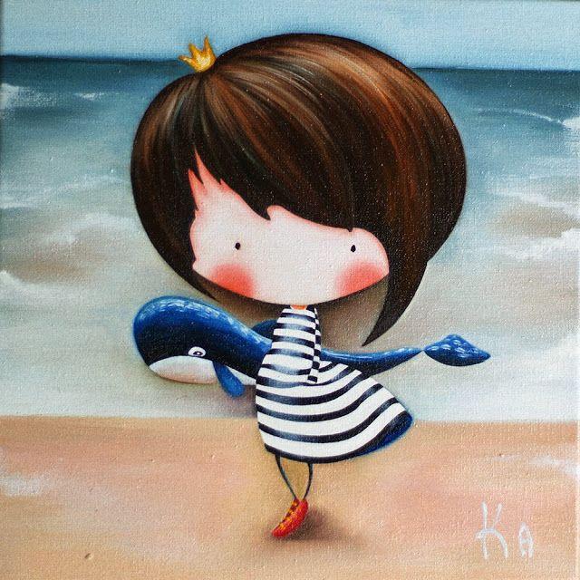 Картины для детских комнат: Следуй за мечтой, поймай свою большую рыбу!:)