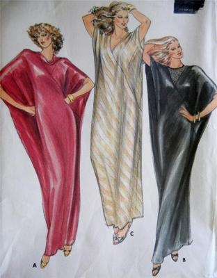 Sewing Pattern For Kaftan Choice Image - origami instructions easy ...