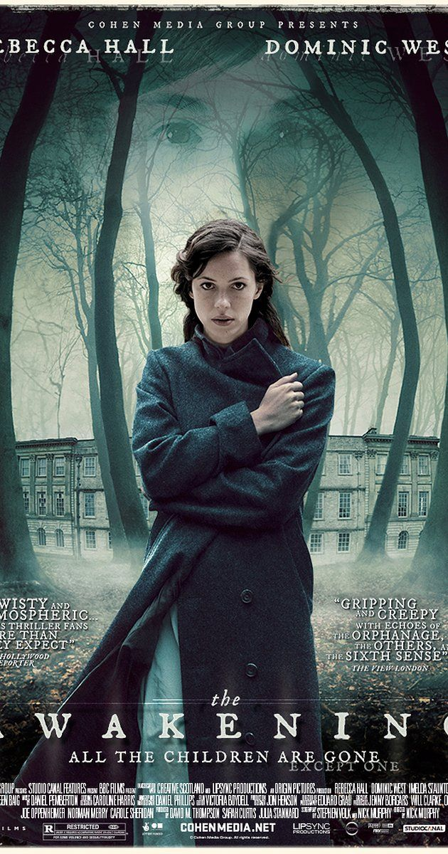 Directed by Nick Murphy.  With Rebecca Hall, Dominic West, Imelda Staunton, Lucy Cohu. In 1921, England is overwhelmed by the loss and grief of World War I. Hoax exposer Florence Cathcart visits a boarding school to explain sightings of a child ghost. Everything she believes unravels as the 'missing' begin to show themselves.
