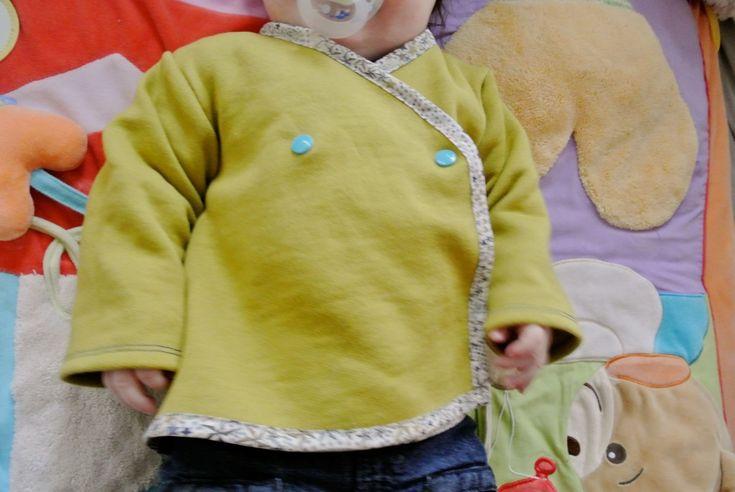 Veste molletonnée bébé11