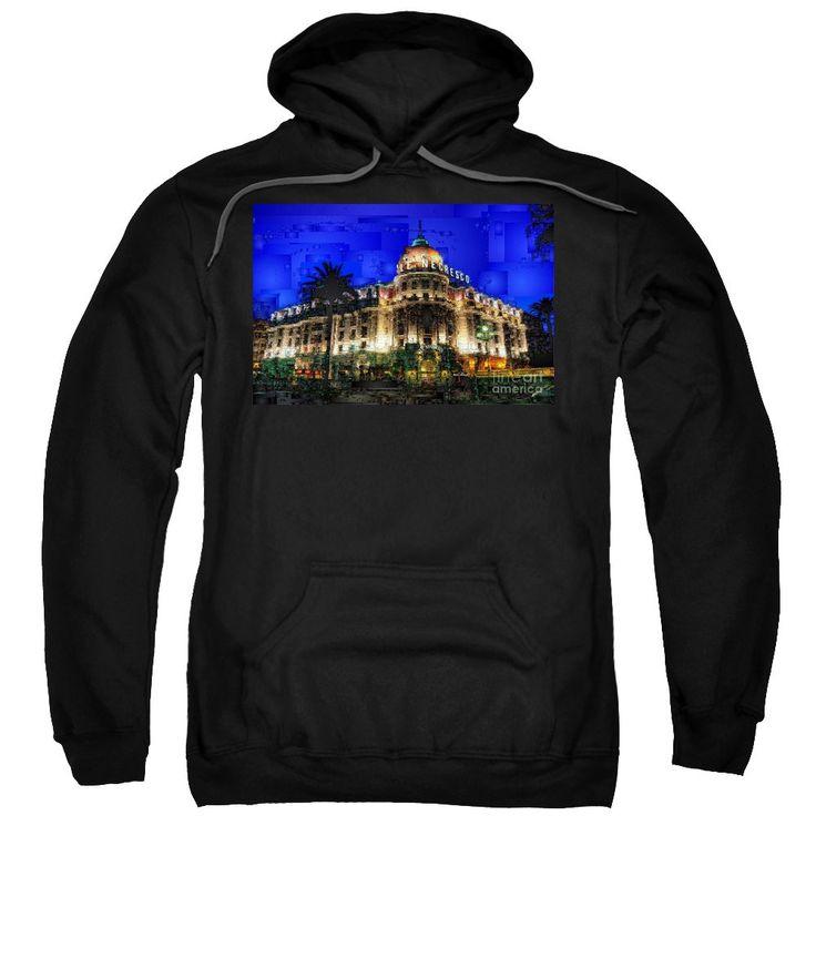 Sweatshirt - Le Negresco Hotel In Nice France