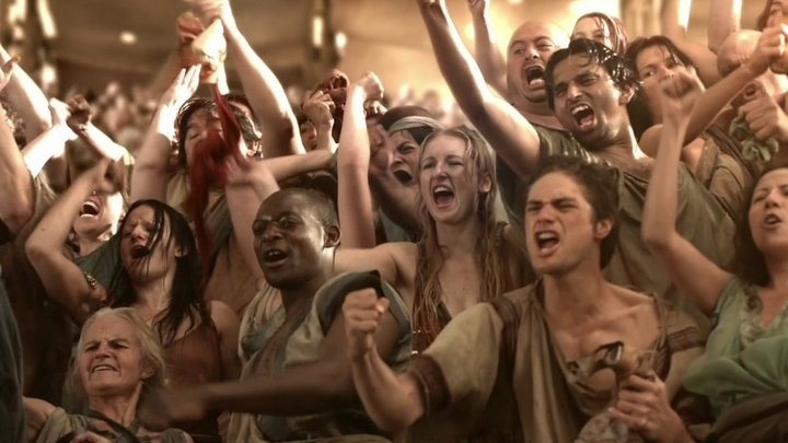 the wild crowd