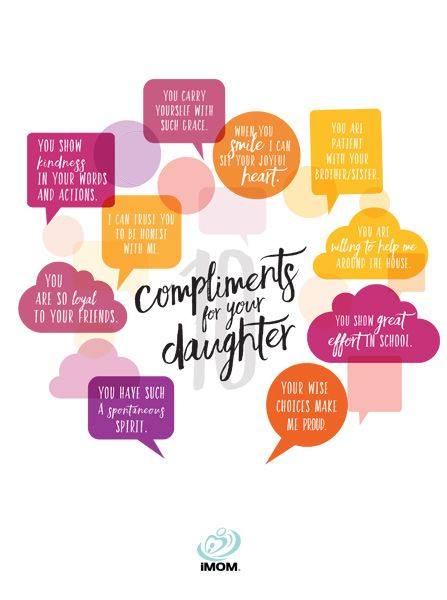 You can help your daughter grow in confidence and strength with these 10 compliments for your daughter.