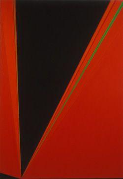 Rita Letendre - Incandescence, 1968 - oil on canvas - Ottawa Art Gallery