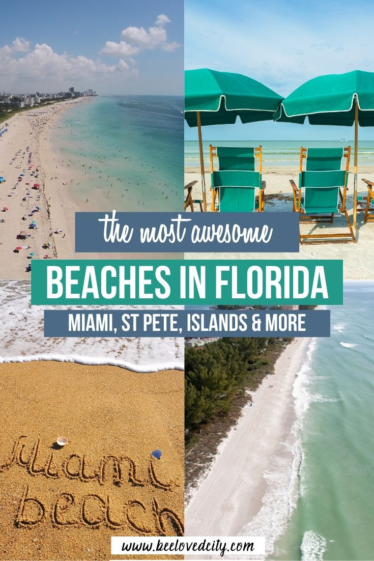 Best Beaches In Florida From Miami Beach To States Parks Beeloved City In 2020 Best Beach In Florida Florida Travel Usa Travel Destinations