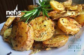Fırında Özel Soslu Patates (Cips Gibi)