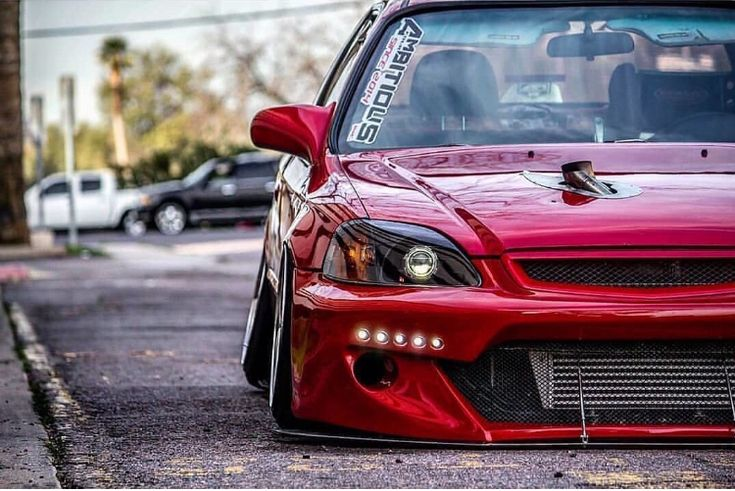 Red candy ek hatchback Instagram: @biguibest