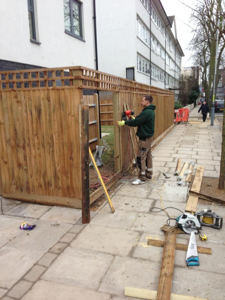 Garden Fencing - London By GreenFellas. http://fenceinstallationnorthlondon.co.uk/
