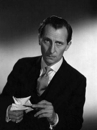 Peter Cushing. His gravitas could make you take the most ridiculous situation, line, or monster seriously.