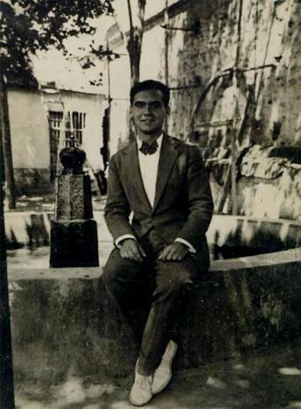 Federico García Lorca en 1927