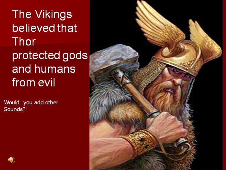 Thor- Images, music, poetry and sound effects to stimulate a creative response to the Viking god Thor.