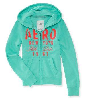 Aero New York Athletic Full-Zip Hoodie - Aéropostale®