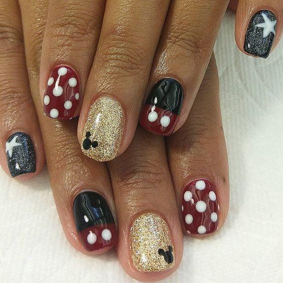 79 Wonderful Disney Nail Art Designs Papillon Day Spa