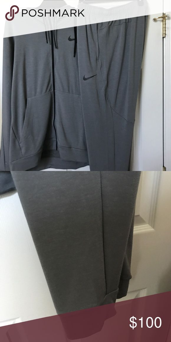 Nike Men's Jogging Suit Brand new size large grey great for fall or winter Nike Other