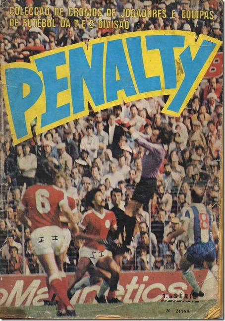 Santa Nostalgia: Penalty–Caderneta de cromos de futebol