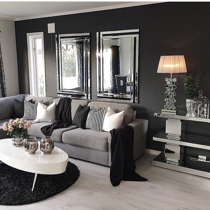 Living Room Modern Black: Best 25+ Black White Stripes Ideas On Pinterest