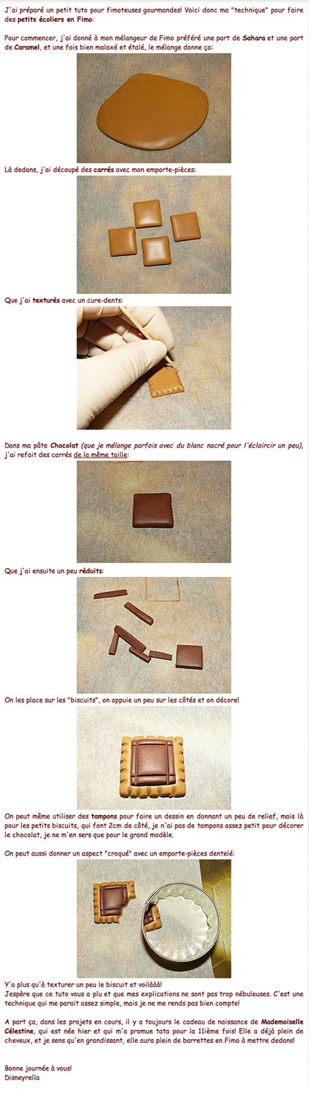 Apprenez à créer des petits écoliers en pâte polymère