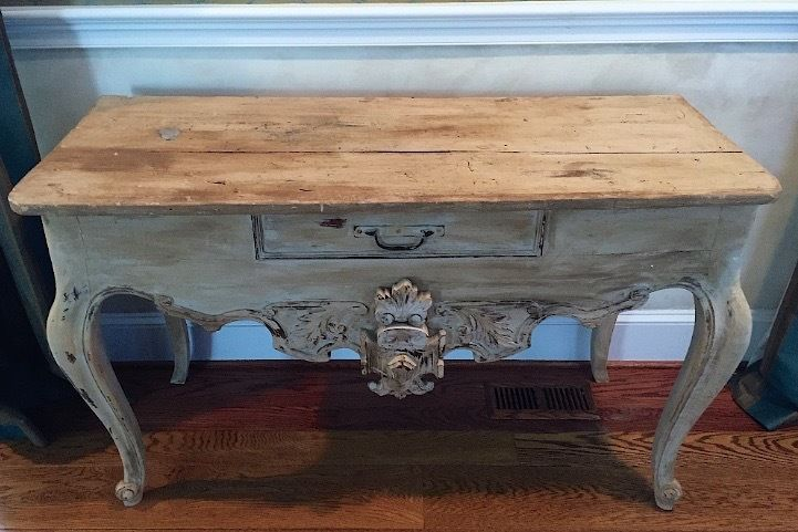 Antique Italian Console Hall Table