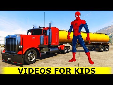 terrific trucks in action go pro footage truck videos for kids sprout