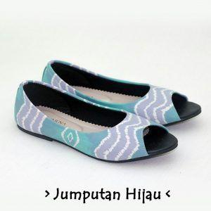 The Warna Shoes – Jumputan Hijau