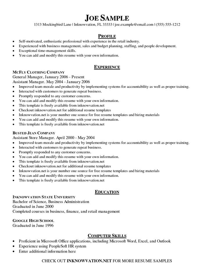 Resume Format Checker Sample resume templates, Resume