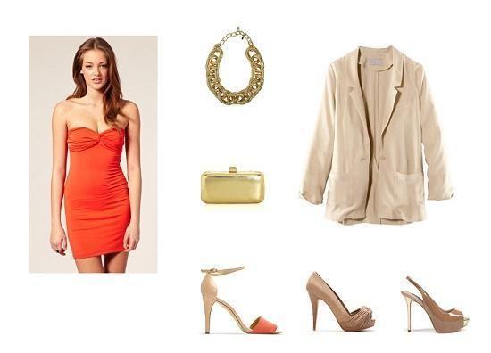 Come abbinare un vestito arancione - 8 passi - unCome