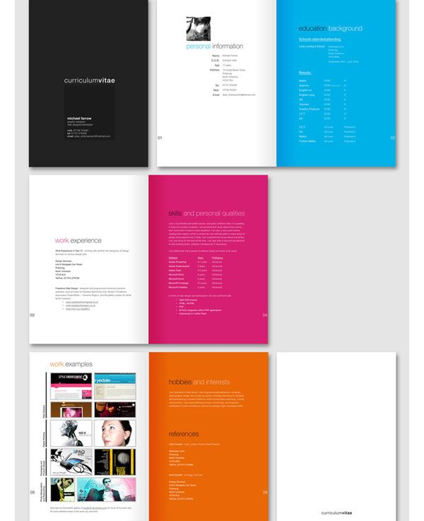 Accent color pages