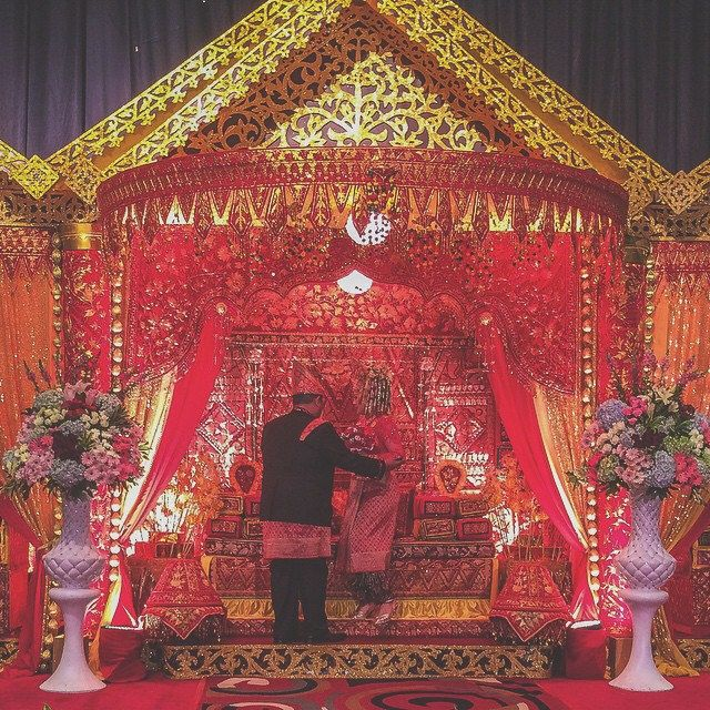 """""""I'm His/Hers. He/She is mine. From this day, until the end of my days."""" Big Congrats to Aga & Raras. Wishing you a Glorious new life. #latepost #last #night #saturday #aceh #traditions #cousin #wedding #jakarta #indonesia"""