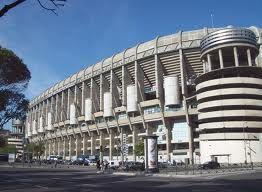 El estadio de Santiago Bernabeu en Madrid