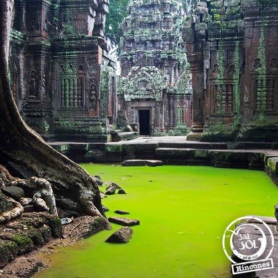 Un rincón del mundo llamado... Templo Ta Prohm en Cambodia