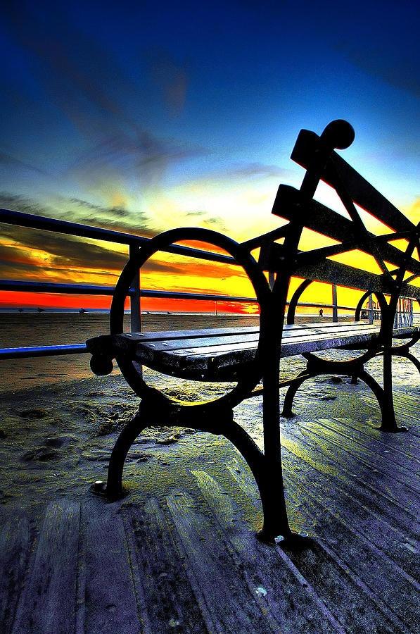 Bench Sunset...